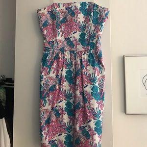 Vineyard Vines Fish/Coral Dress
